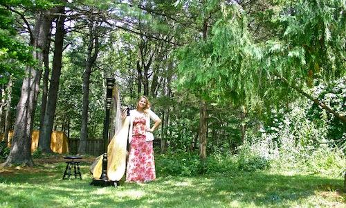 An August Wedding in Essex | The Modern Harpist
